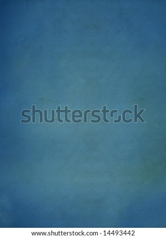 Vintage Blue Paper Background