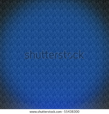 Vintage Blue Wallpaper - stock photo