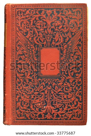 Vintage Book Cover - stock photo