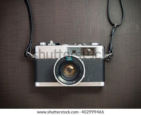 vintage cameras - stock photo