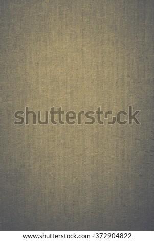 vintage canvas texture linen fabric grunge background - stock photo
