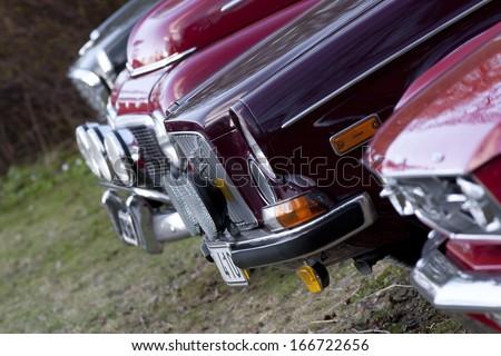 Vintage cars - stock photo