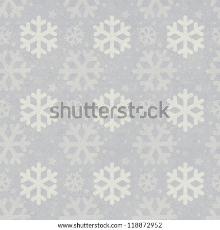 Vintage Christmas seamless background