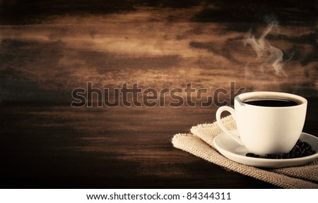 Vintage Coffee - stock photo
