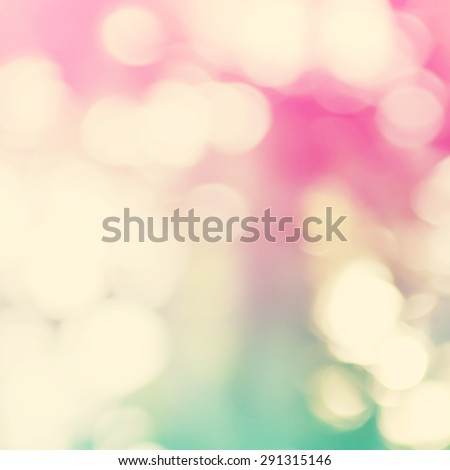 Vintage Color Background with Natural Bokeh - stock photo