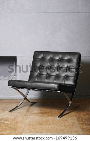 Vintage Couch in modern living room - stock photo