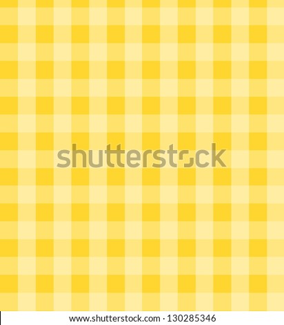 Vintage, country checkered fabric. - stock photo