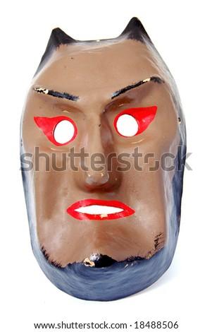 Vintage Devil mask - stock photo