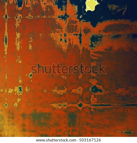 Vintage elegant background, creased grunge backdrop with aged texture and different color patterns: yellow (beige); brown; gray; blue; red (orange)