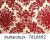 vintage fabric - stock photo