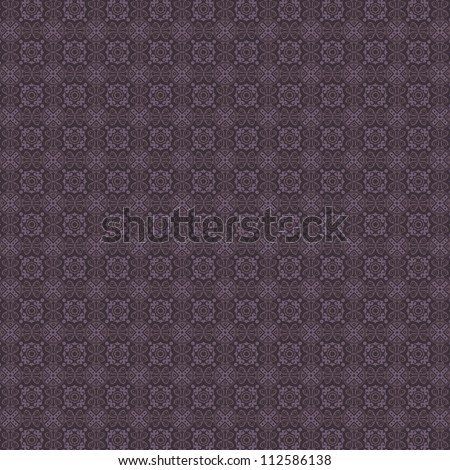 Vintage Fabric Tapestry Damask Pattern Background Texture