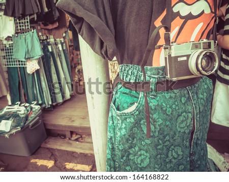 Vintage Fashion - stock photo
