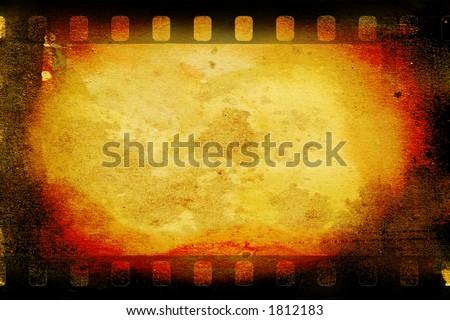 vintage film - stock photo