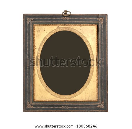 Vintage frame on white background.   - stock photo