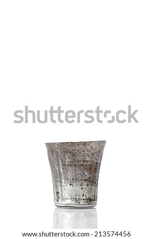 Vintage glass - stock photo