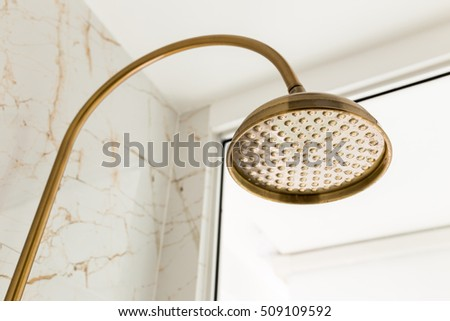 Model. Golden shower closeup pretty