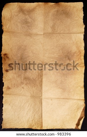 Vintage Grungy paper - stock photo