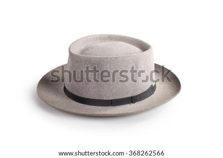 vintage hat - stock photo