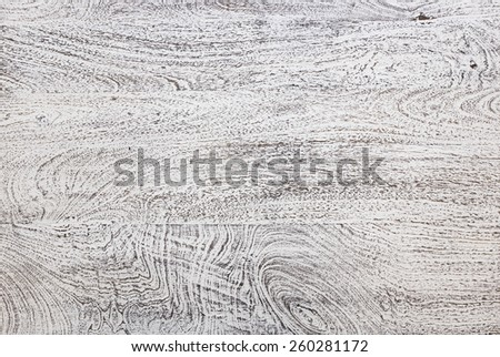 vintage look white paint stained wood texture - stock photo