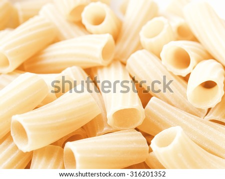 Vintage looking Detail of Macaroni pasta useful as a background