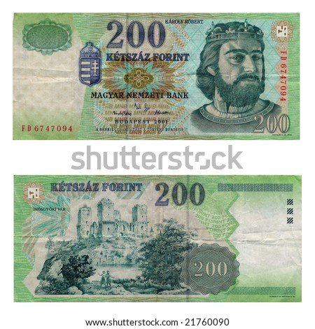 Vintage Mayar Hungarian Forints (no more in use)