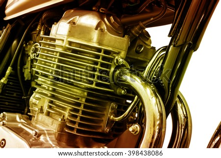 vintage Motorcycle detail