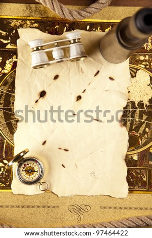 Vintage Navigation Equipment - stock photo