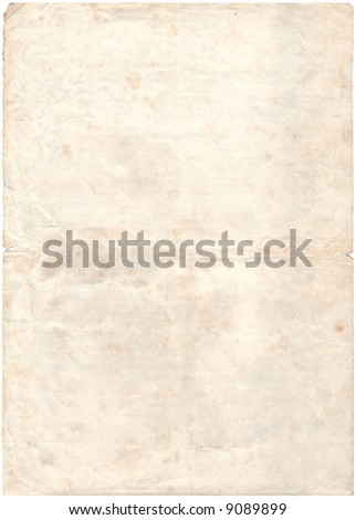Vintage,old paper background - stock photo