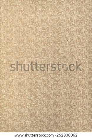 Vintage old  paper texture background - stock photo