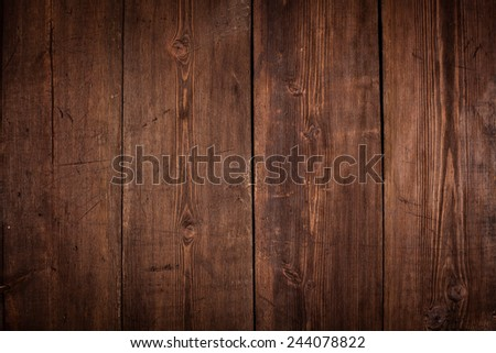 Vintage old wood background - wooden planks texture close up - stock photo