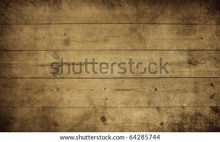 vintage old wood texture - stock photo