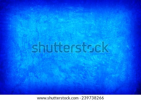 Vintage or grungy blue background of natural cement old texture as a retro pattern layout. It is a concept, conceptual or metaphor wall banner, grunge, material, aged,construction - stock photo