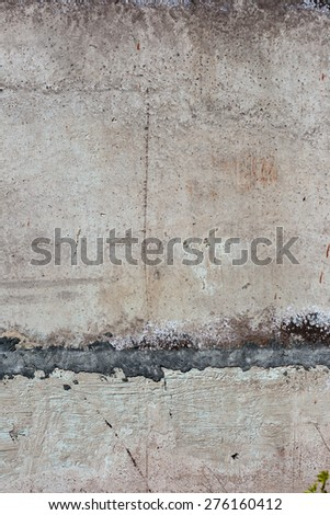 Vintage or grungy of Concrete wall Texture and Background
