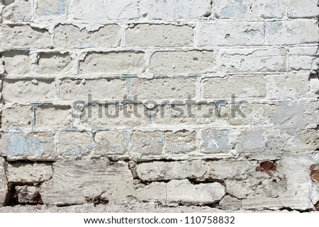 Vintage or grungy white background of natural cement or stone old texture as a retro pattern wall. It is a concept, conceptual or metaphor wall banner, grunge, material, aged, rust or construction - stock photo
