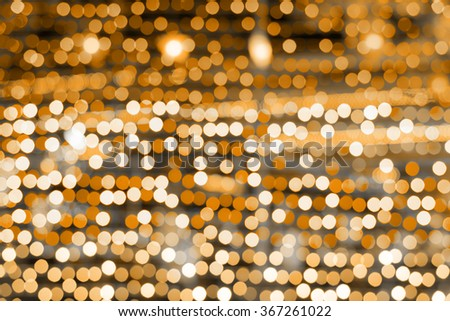 vintage orange color bokeh background