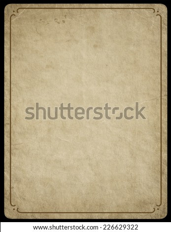 Vintage paper background old paper.  - stock photo