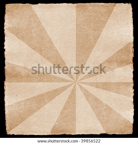 Vintage paper texture: can be used as background - stock photo