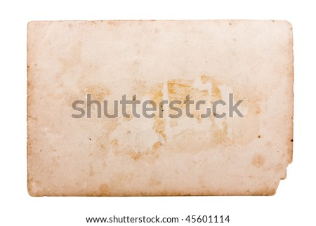 Vintage photo frame collection. Saved with clipping path. - stock photo