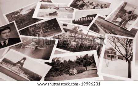 Vintage Photos - stock photo