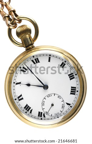 Vintage Pocket Watch - stock photo