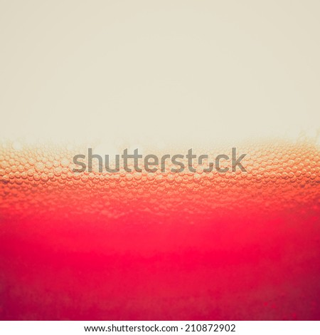 Vintage retro looking Bitter soda or vermouth cocktail drink with copy space - stock photo
