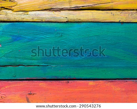 vintage rough wood painted plank abstract for background - stock photo