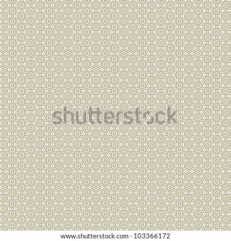 Vintage shabby background with classy patterns. Seamless vintage delicate colored wallpaper. Geometric and floral pattern on paper texture in grunge style.