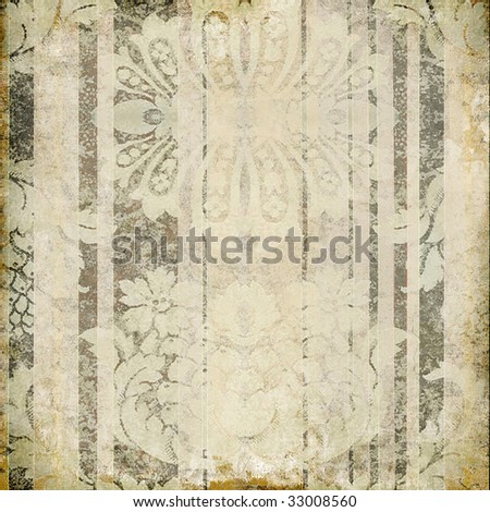vintage shabby paper - stock photo