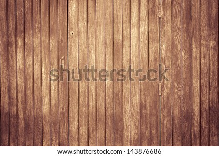 Vintage stained wooden wall background texture - stock photo