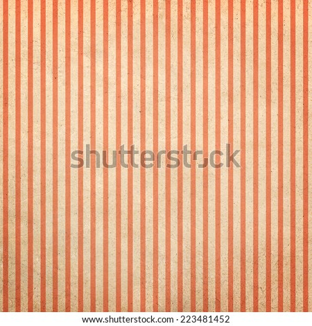 Vintage striped paper background, retro style - stock photo