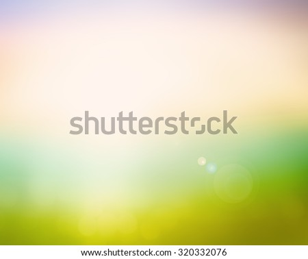 Vintage style. Abstract blurred textured background: pink and green patterns. Blurred nature background. Sandy beach backdrop with turquoise water and bright sun light. Summer holidays concept. - stock photo