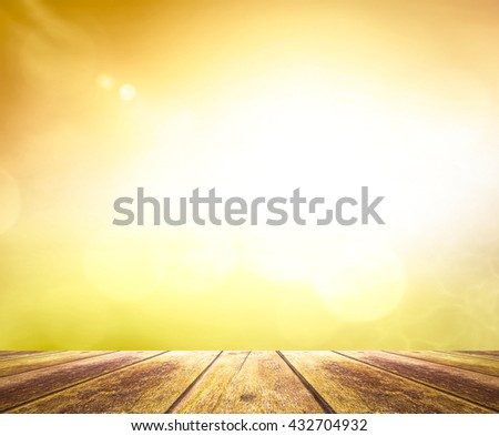 Vintage Style Blur Beach Backdrop Bright Sun 2017 Sand Sea Bokeh Flare Soft Zen Glow Ocean Wave Clear Retro Relax Shine Light Clean Pastel Fresh Smooth Orange Horizon Air Park Sky Bank Spring flower - stock photo
