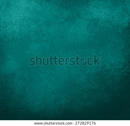 vintage teal blue background - stock photo
