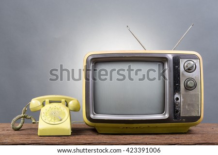 Television On Old Grey 6